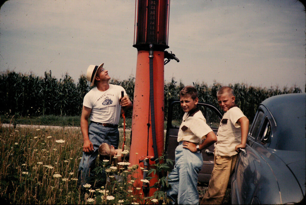 1953 in Fowler, Indiana
