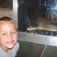 Jacob with snake