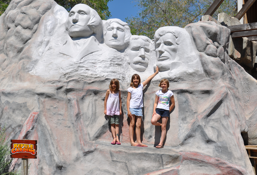 Visit Mount Rushmore at Rattlesnake Gulch
