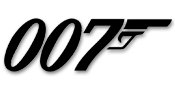 Image of James Bond 007 logo.