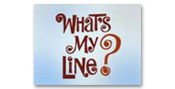 Image of What's My Line logo.