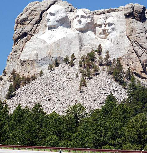 image of Mount Rushmore National Monument.