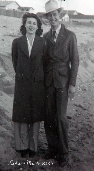 Earl & Maude Brockelsby in the early 1940's.
